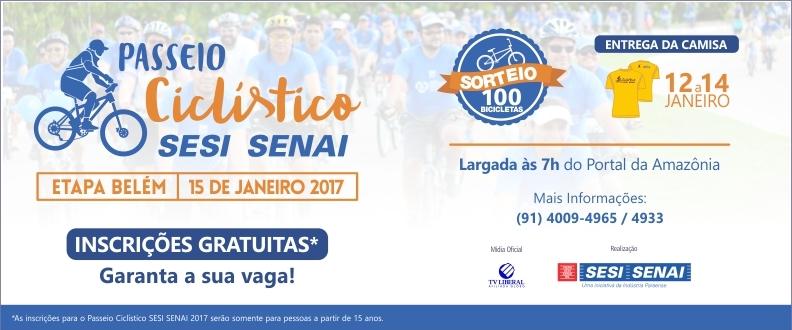 Passeio Ciclístico SESI SENAI Belém 2017