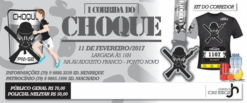 I CORRIDA DO CHOQUE
