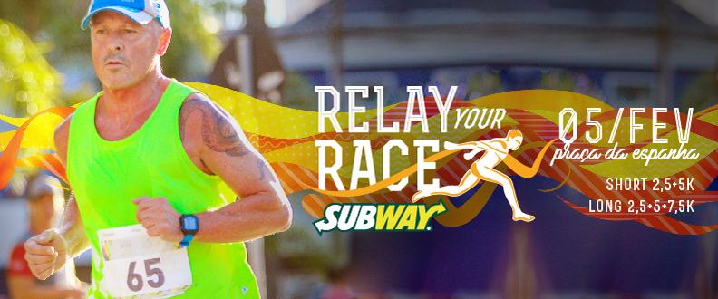 Relay Your Race - Revezamento Individual