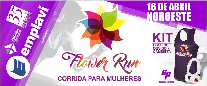 FLOWER RUN - Corrida para mulheres