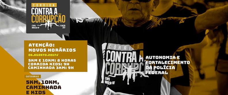 CORRIDA CONTRA CORRUPÇÃO ETAPA BRASÍLIA 2ª Edição