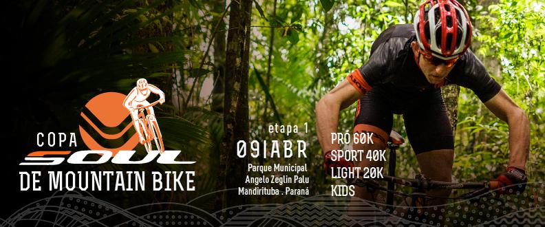 Copa Soul de Mountain Bike - 1ºEtapa - Mandirituba