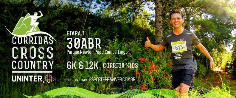Corrida Cross Country - 1ºEtapa - Campo Largo