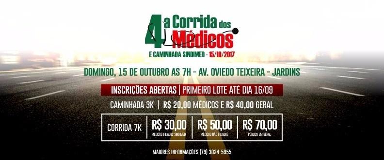 4ª CORRIDA DOS MEDICOS E CAMINHADA SINDIMED