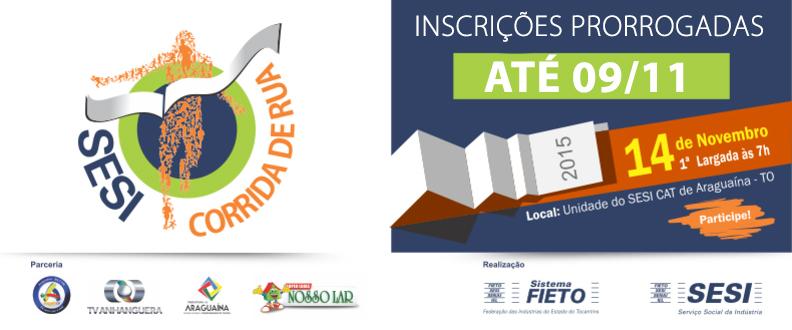 SESI Corrida de Rua - Araguaína To