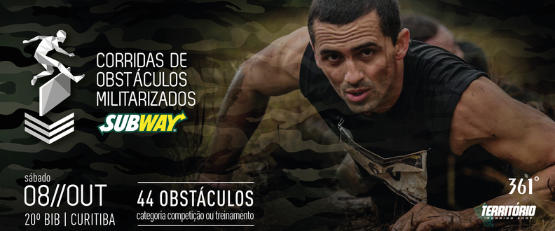 CORRIDA DE OBSTÁCULOS SUBWAY® - 20º Batalhão IB.